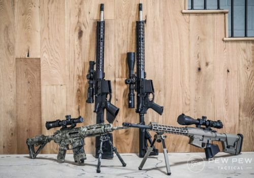 Complete AR-10 rifle: The best civilian rifle for hunting